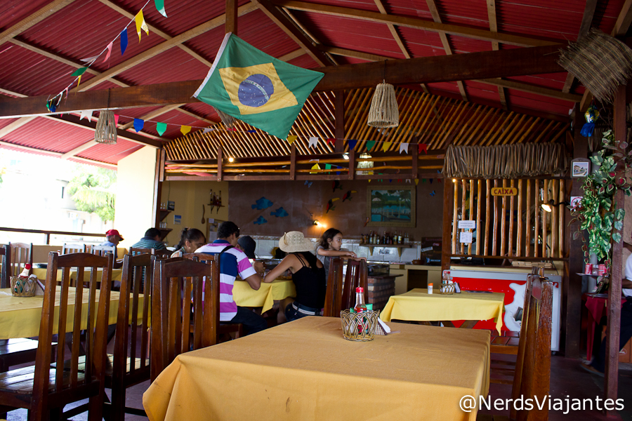 Ambiente do Restaurante Marina Tropical