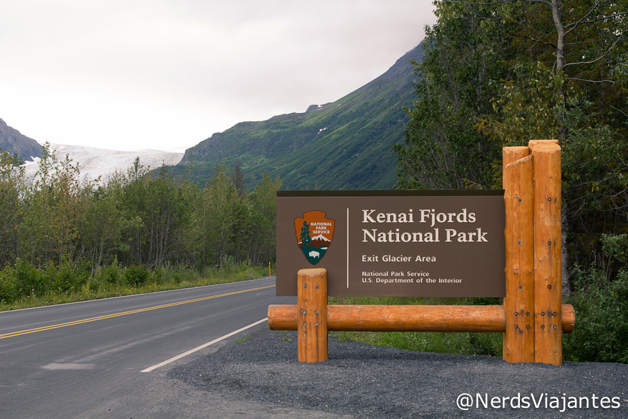 Entrada do Kenai Fjords National Park