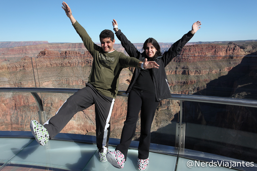 Nerds caindo no Grand Canyon