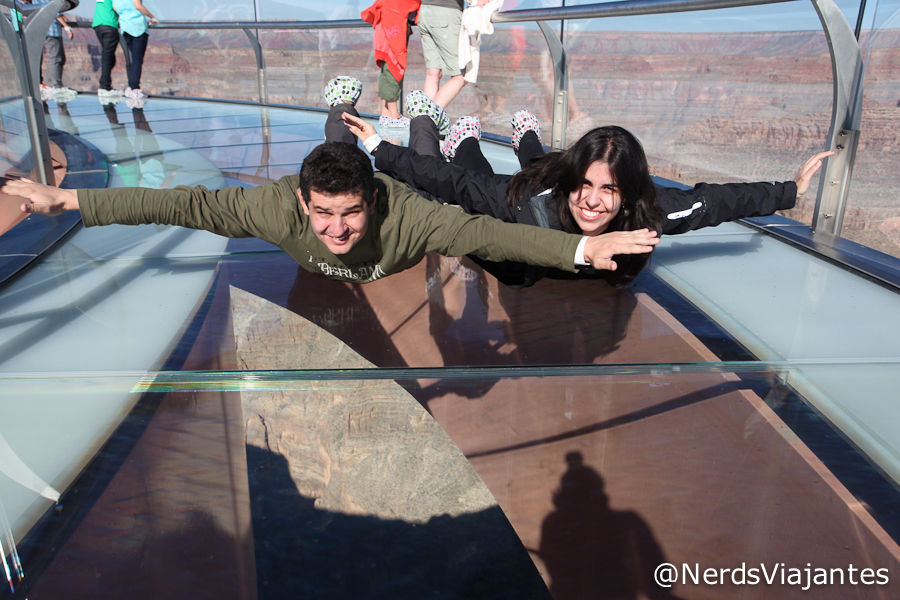 Nerds voando no Grand Canyon