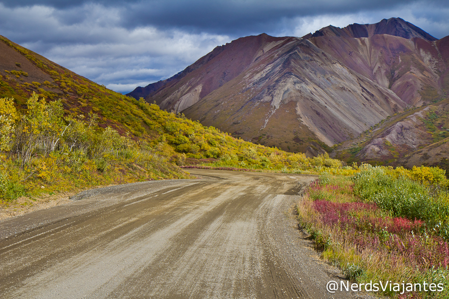 Denali Park Road, estrada dentro do Denali National Park