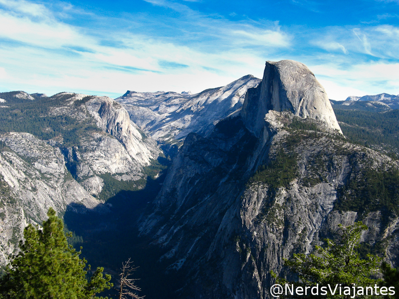 Yosemite visto do Glacier Point - Yosemite National Park - Estados Unidos