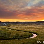Revelando a Foto – Pôr do Sol no Yellowstone