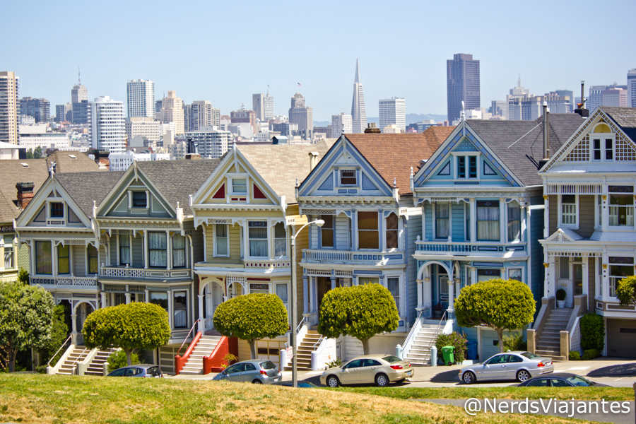 Alamo Square - San Francisco - Califórnia