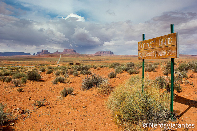 Forrest Gump - Monument Valley - Estados Unidos
