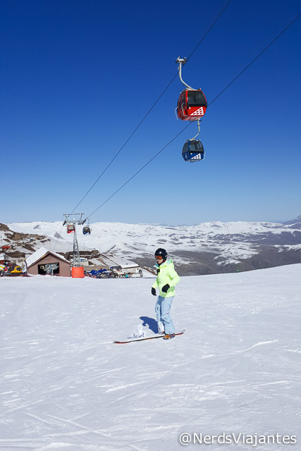 Aula de snowboard no Valle Nevado Ski Resort - Chile