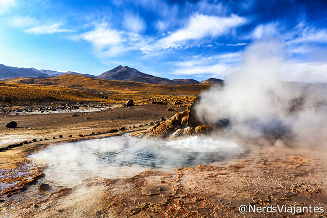 Geisers del Tatio no Atacama - Chile