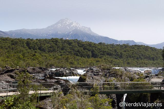 Estrutura dos Saltos del Petrohué - Chile