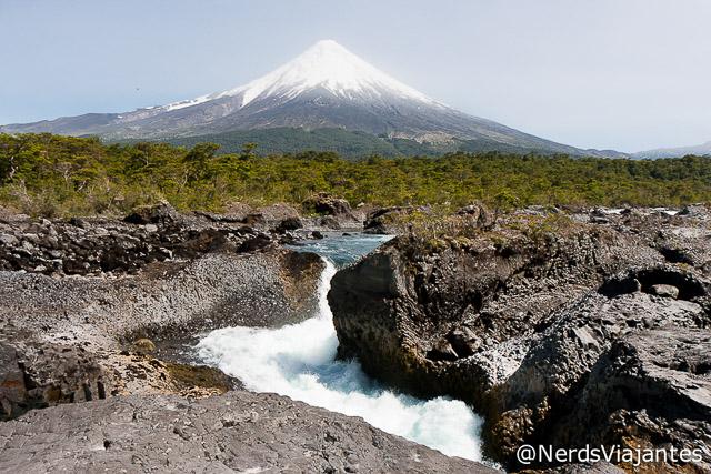 Vulcão Osorno e os Saltos del Petrohué - Chile