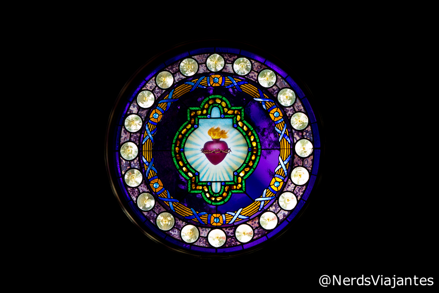 Vitral da Capela do Grand Teton