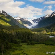 Paisagem da Alaska Railroad