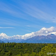 Alaska Highway 3 - Mirante com vista para o Denali