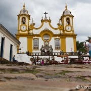 Visão de formiga em Tiradentes