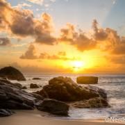 Pôr do sol na Praia da Conceição - Fernando de Noronha