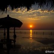 Pôr do sol na Ilha da Canela