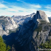 Yosemite visto do Glacier Point