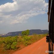 Vista do caminhão da Korubo - Jalapão