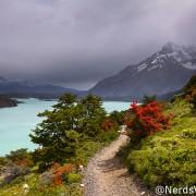 Lago Nordenskjold no parque Torres del Paine - Patagônia Chilena
