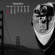 Papel de Parede - Setembro/2014 - Com Calendário