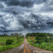 Estrada em Paineiras - Minas Gerais