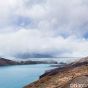 Glaciar Upsala visto do mirante da Estancia Cristina - Patagônia Argentina