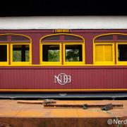 Vagão de trem em Campinas - São Paulo