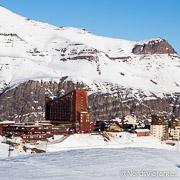 Estação de esqui Valle Nevado - Chile