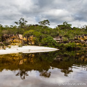 Trilha do Cerrado no Parque Estadual do Rio Preto - Minas Gerais