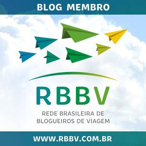 Membro da Rede Brasileira de Blogueiros de Viagem