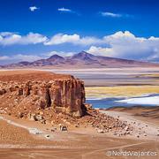 Salar de Tara no Atacama - Chile