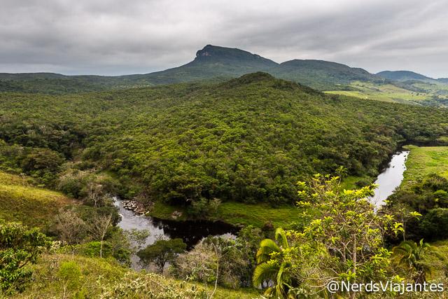 Rio Preto e belas paisagens da região da Cabeça de Boi - Minas Gerais