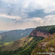 Ponta do Campestre, linda vista da Chapada dos Guimarães - Mato Grosso