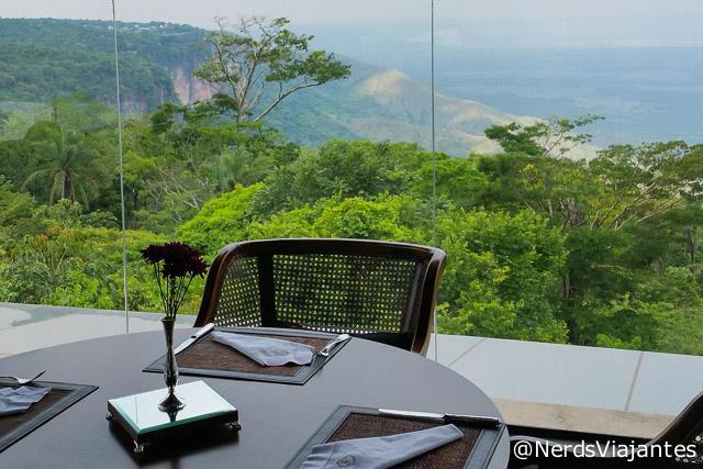 Vista do Restaurante Atmã, na Chapada dos Guimarães - Mato Grosso - Brasil