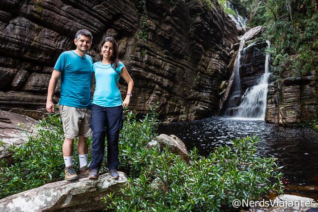 Nerds na Cachoeira da Maçã, na Cabeça de Boi - Minas Gerais
