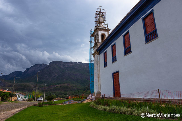 Igreja Matriz de Nossa Senhora da Conceição em Catas Altas - Minas Gerais