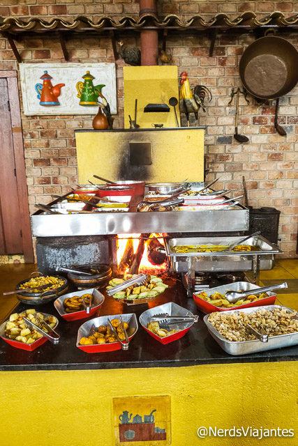 Restaurante Rancho do Pote em Catas Altas - Minas Gerais